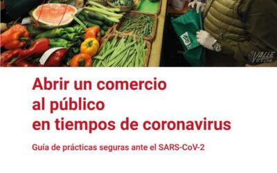 Guía de prácticas seguras para la apertura de comercios en tiempos de coronavirus