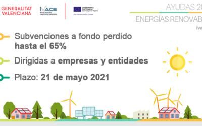 PROGRAMA DE ENERGÍAS RENOVABLES Y BIOCARBURANTES 2021 (HASTA EL 21 DE MAYO)